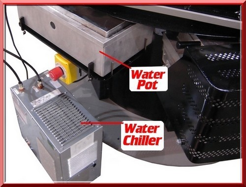 "Chiller for 24"" Circular Padder"